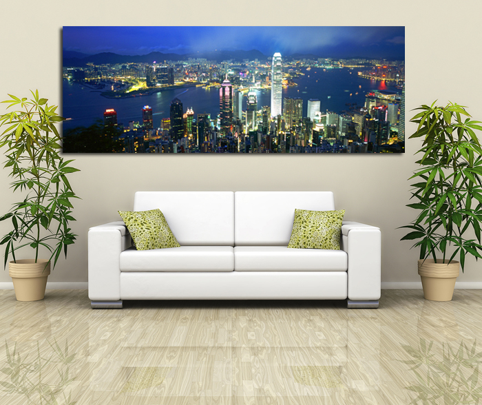 hong kong peak canvas