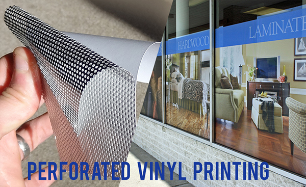 Poway and San Diego Perforated Window Vinyl Decals & Perforated Decals | Poway San Diego Signs Banners Decals Stickers ...