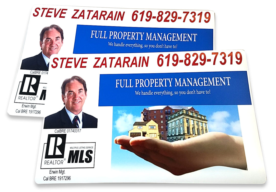 Property Management Door Magnets