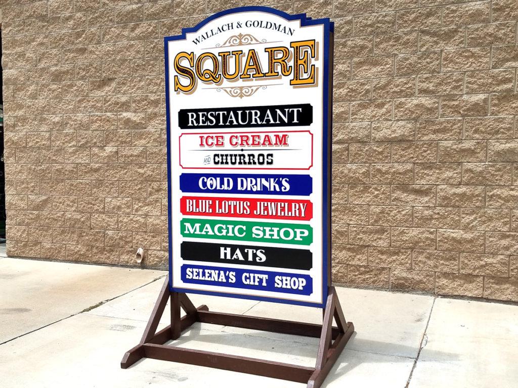 San diego or poway custom wood signs