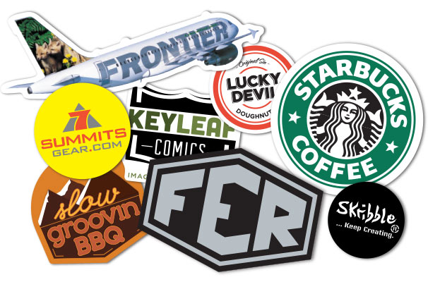 Create a custom sticker with your image or logo